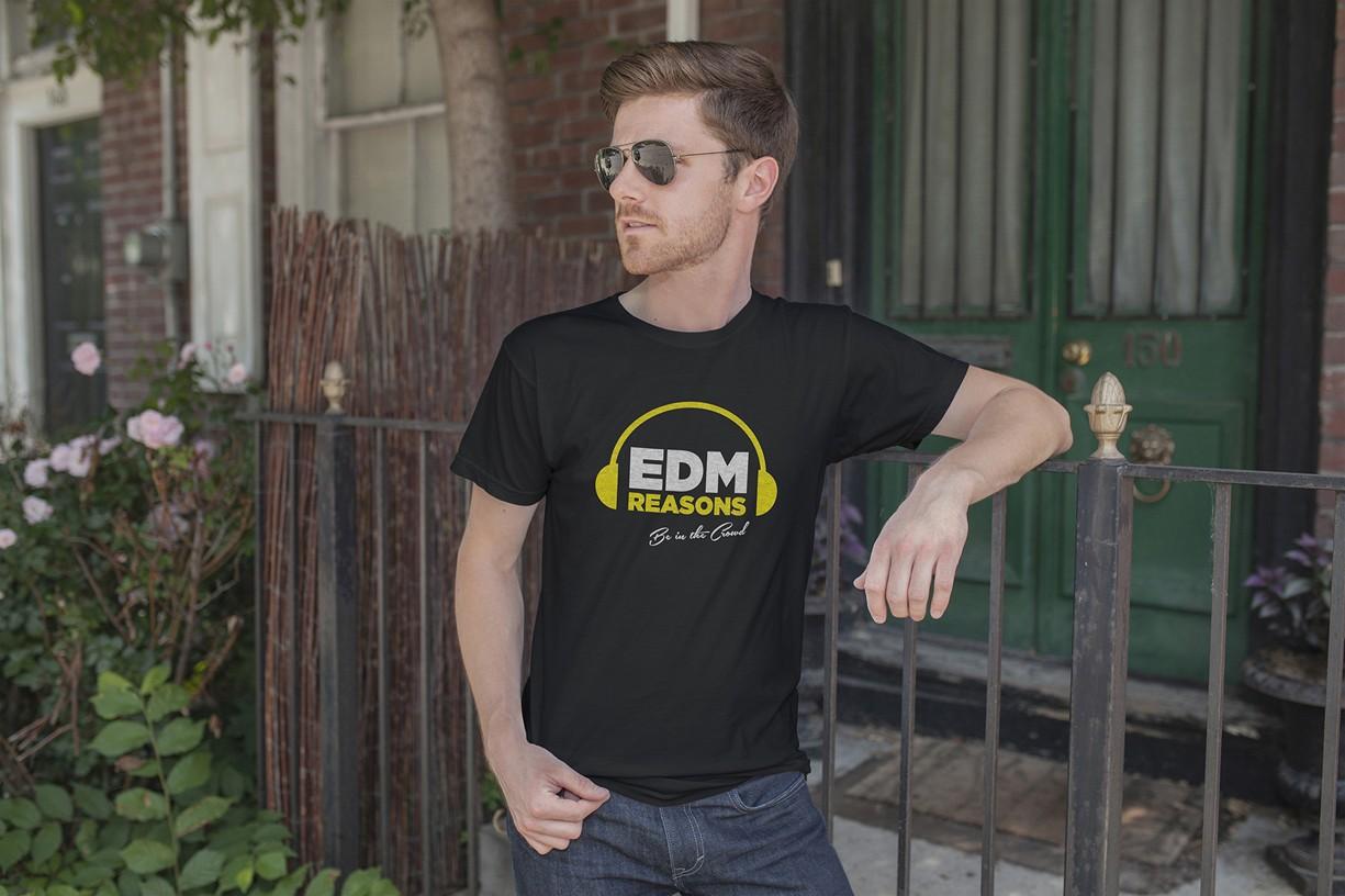 Tvorba loga - EDM REASONS