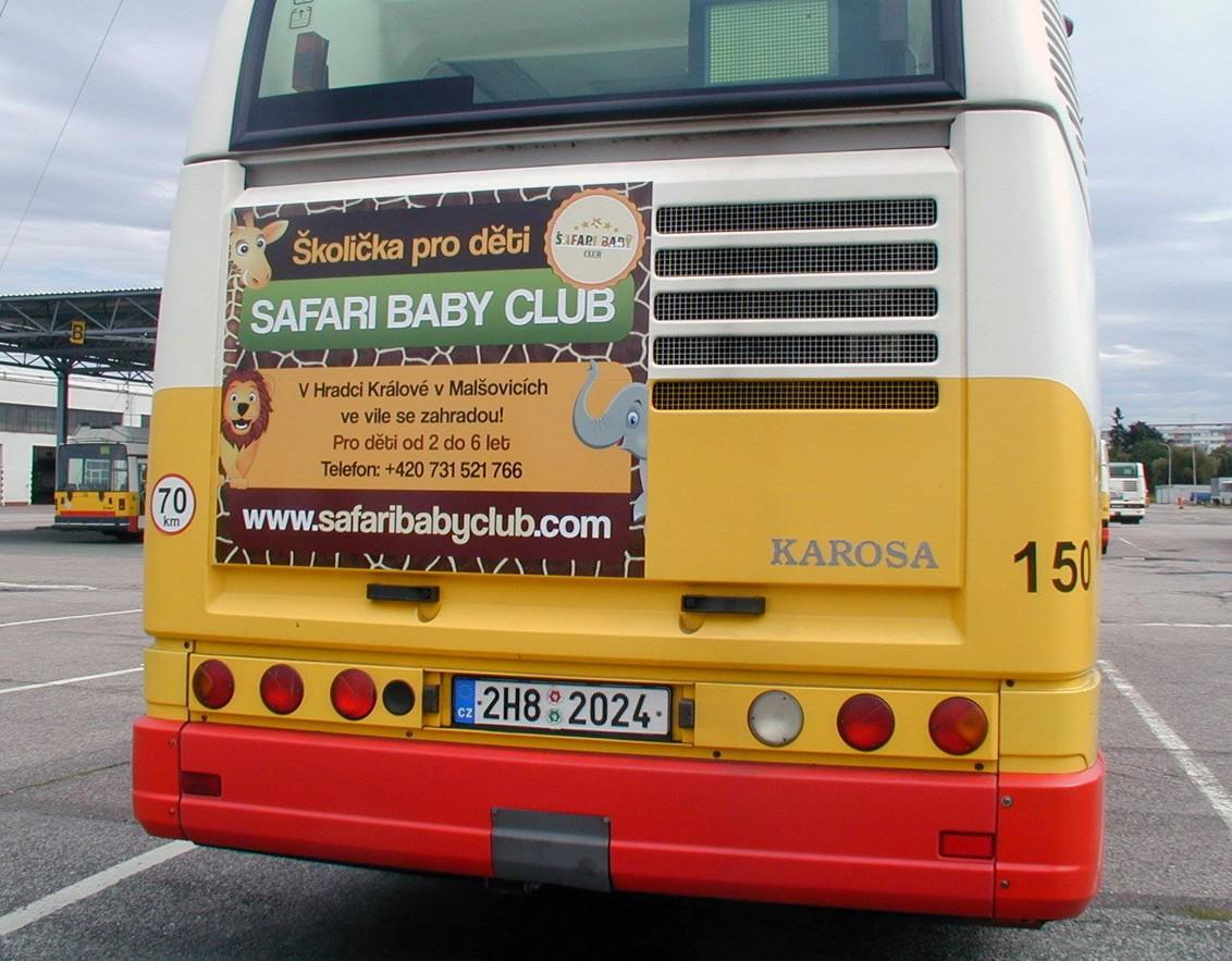 Polep - Safari baby Club