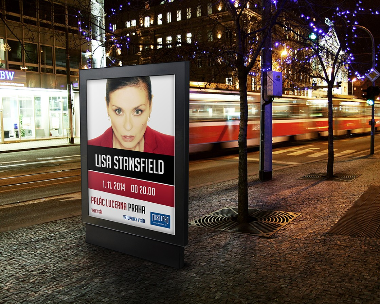 Plakát - Lisa Stansfiled - Praha