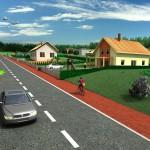 3D vizualizace - Stavební pozemky Česká Skalice