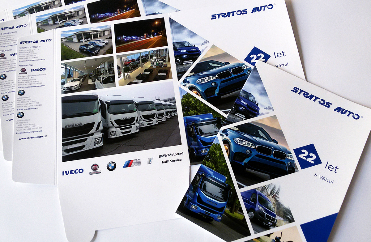 Výsekové desky pro Stratos auto