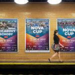 Série plakátů pro Nova Cup 2017