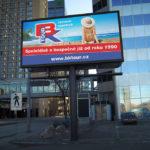 Billboard pro cestovní kancelář BK TOUR