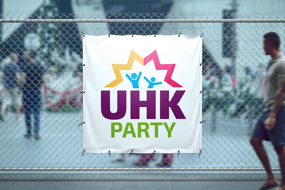 Logotyp - UHK PARTY